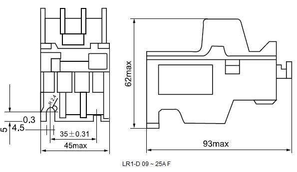 LR1-D 09 ~ 25A F