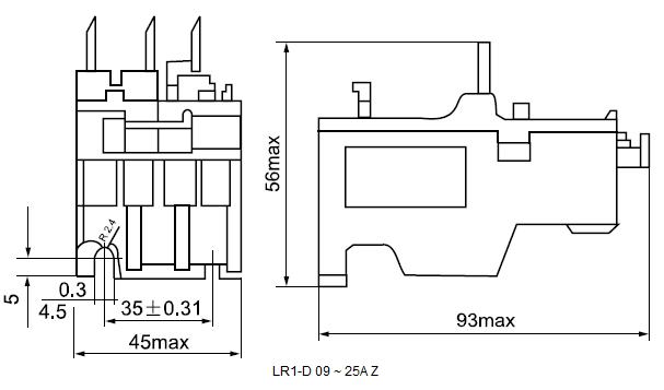 LR1-D 09 ~ 25A Z