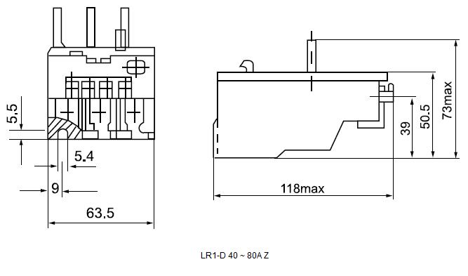 LR1-D 40 ~ 80A Z