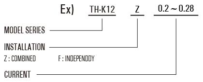 thermal-relay-thk-code
